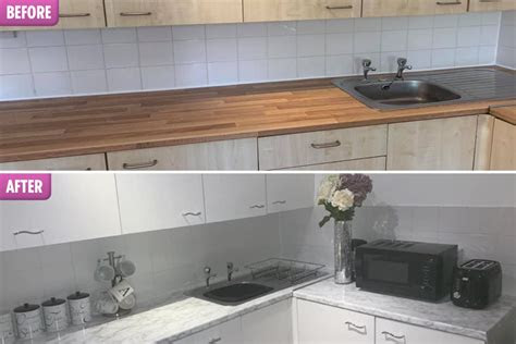 woman revamps  kitchen  hated
