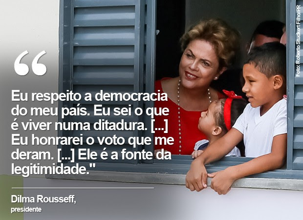 Resultado de imagem para Presidente Dilma e Democracia