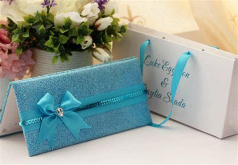100pcs/lot Wedding Cards With Bag Pack Wedding Invitation