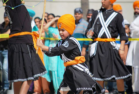 Baisakhi in 2016 will again be celebrated along with the Sikh rituals.