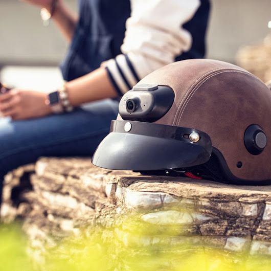 Airwheel C6 Smart Helmet with Bluetooth Speaker, Camera - iPhoneNess