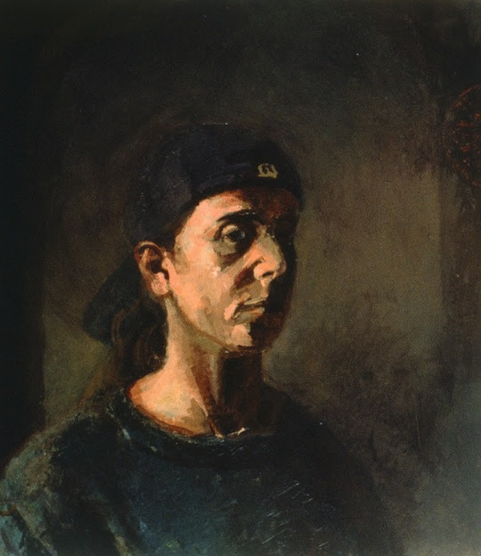 Elizabeth Castiglione Paintings - Depression Series