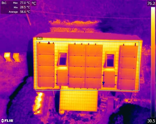 Drone Thermal Imaging Inspections