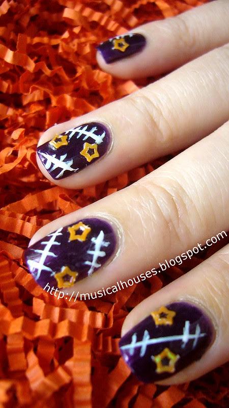 halloween nail art 3