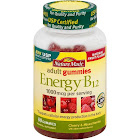 Nature Made Energy B12 Gummies, 1000 mcg, Cherry & Mixed Berries - 80 count