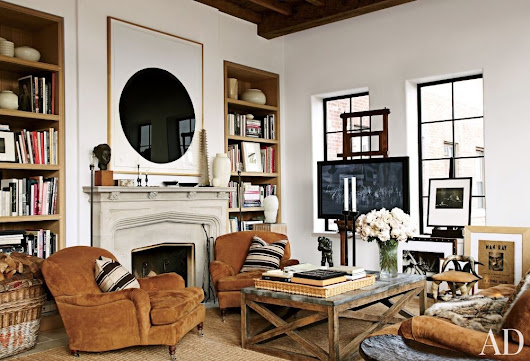 Design a TV Room That Doesn't Look Like One Using These Tricks | Architectural Digest