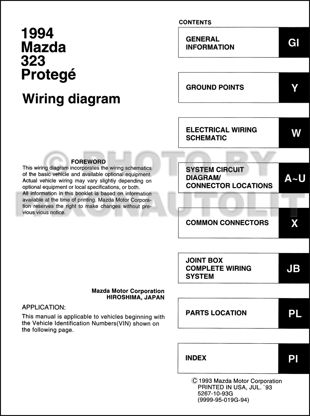 Diagram 1997 Mazda Protege Wiring Diagram Original Full Version Hd Quality Diagram Original Kwikwiringx29 Locandadossello It