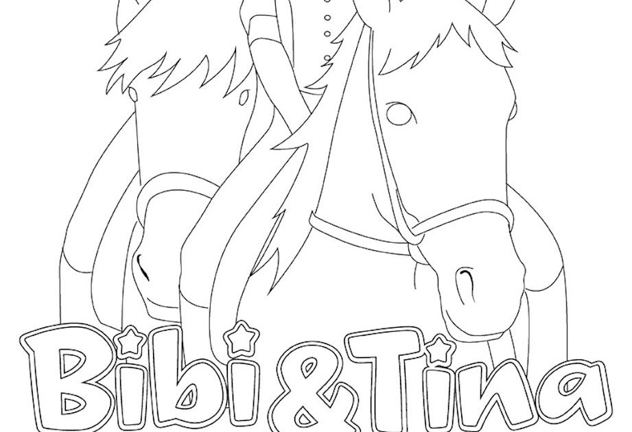 ausmalbilder bibi und tina mädchen gegen jungs  malvorlagen