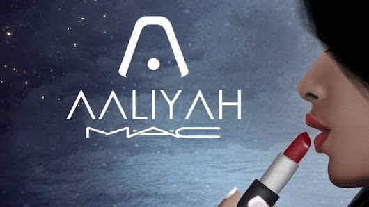 "MAC Cosmetics, Estee Lauder: To release a ""Aaliyah for MAC"" Limited Edition collection #AaliyahForMAC"