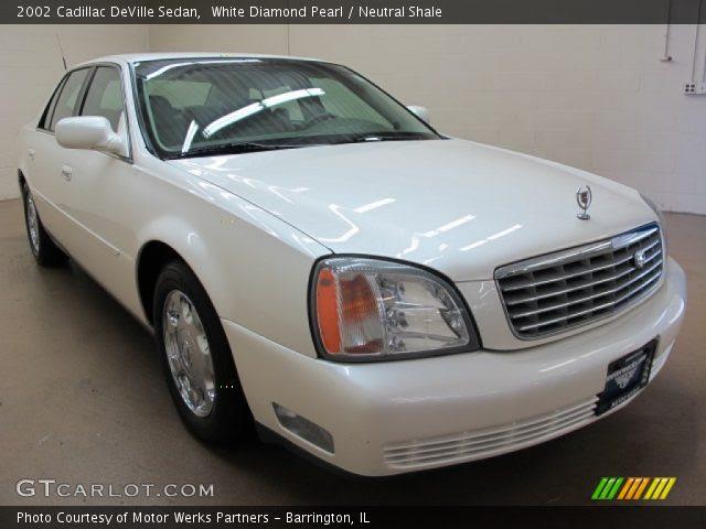 White Diamond Pearl - 2002 Cadillac DeVille Sedan ...