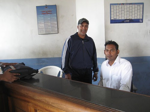 customs officers Mauritius