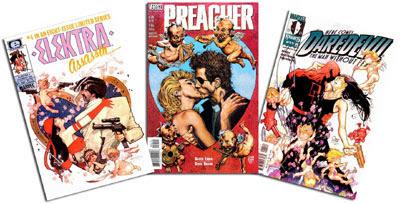 Elektra: Assassin #4/Preacher #54/DD #11
