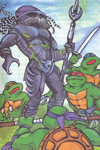 Russian Teenage Mutant Ninja Turtles 16