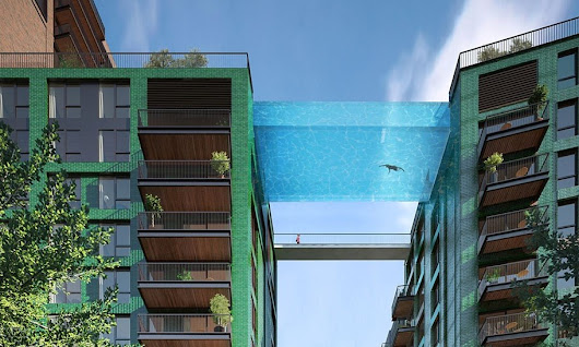 Swim 115 Feet in the Air in World's First Sky Pool