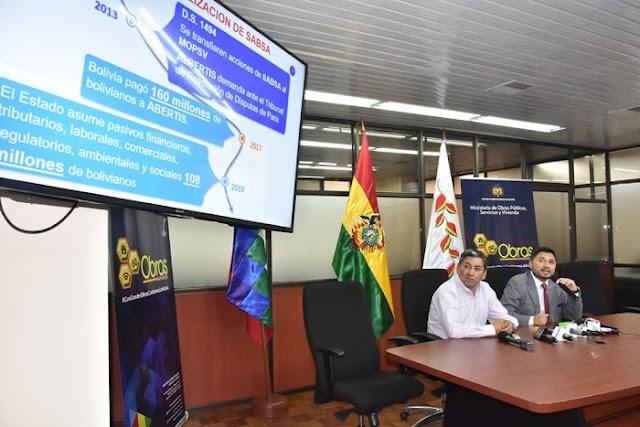 Bolivia: Sabsa perdió Bs 14 millones en utilidades