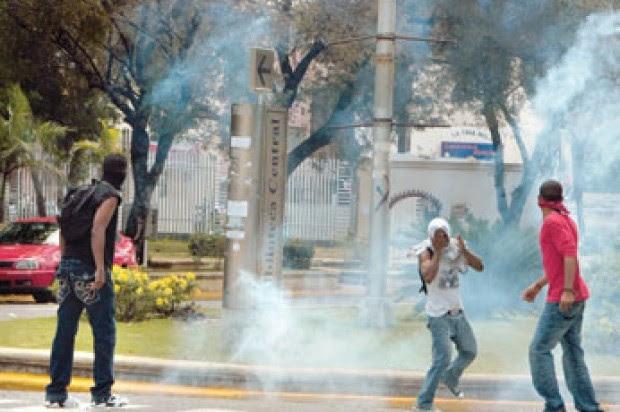 La UASD suspende docencia por disturbios tras muerte de dirigente de Falpo