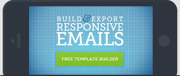 Build and export responsive emails with our free template builder