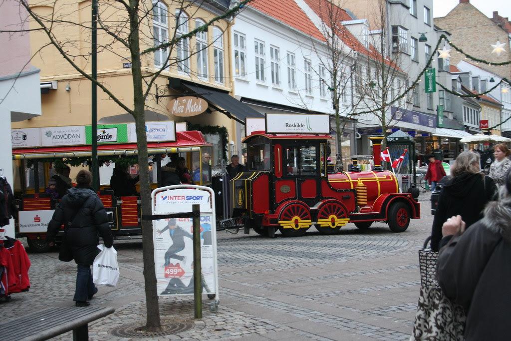 Christmastrain in Roskilde