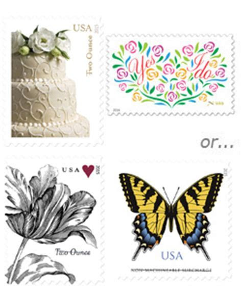 $0.68 Cent Stamps for Wedding Invitations   Wedding Stamps