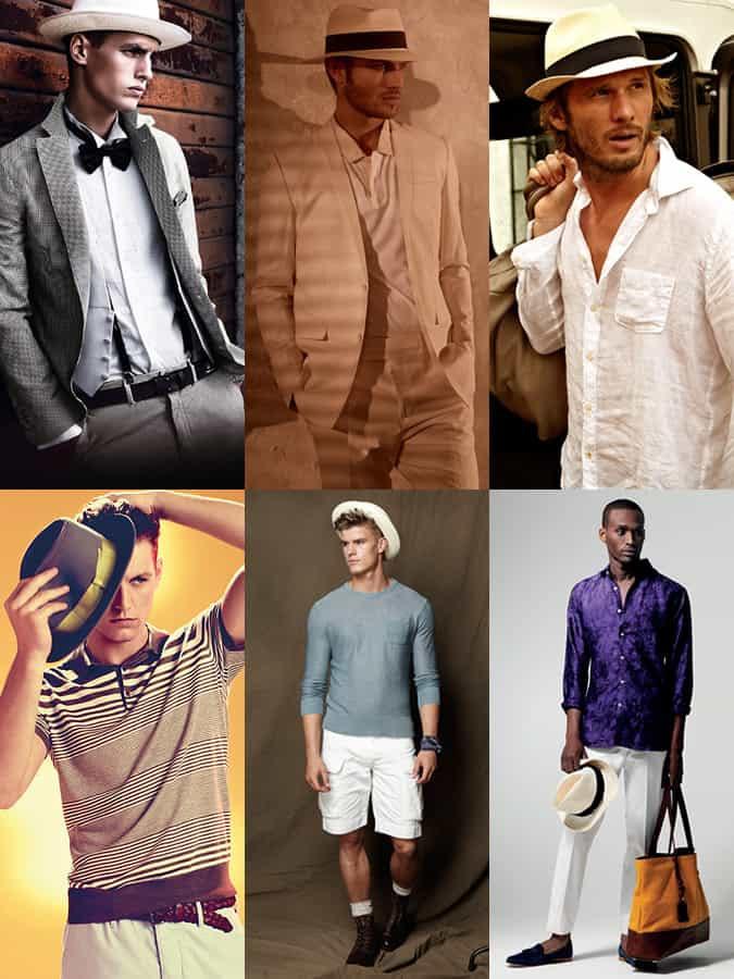 Men's Panama Hat Lookbook