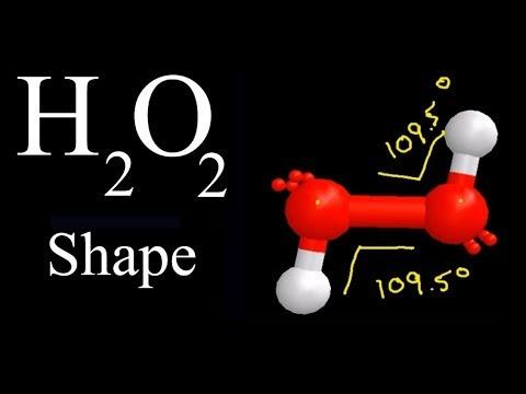 H2o2 Geometric Shape