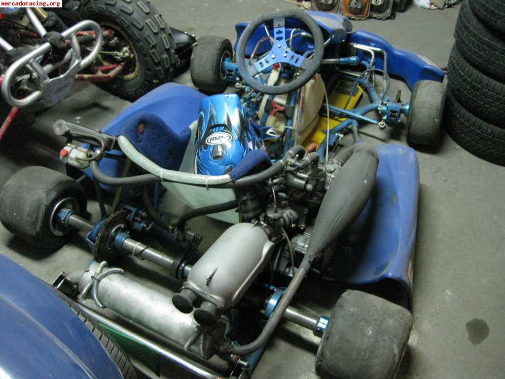 Leopard Parilla X30 125 Kart Engine | Gentlemen