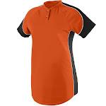 Augusta Sportswear 1532 Ladies Blast Jersey - Orange/Black/White