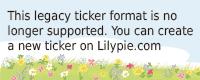 Lilypie 6 - 18 Ticker