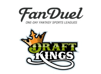 FanDuel and DraftKings logos