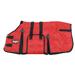 Tough-1 600D Miniature Stable Blanket W/Belly Wrap 48inch, Red