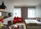 Image of Advice: Marvelous Modern Minimalist Red Sofa Studio ...