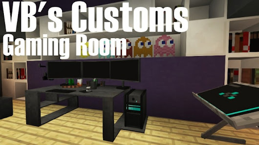 Check out This Awesome Gaming Room Built in Minecraft - Gearcraft