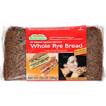 Mestemacher Bread, Whole Rye ‐ 17.6 Ounce Loaf - PACK OF 144