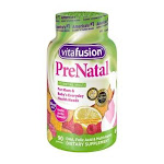 Vitafusion PreNatal Gummy Vitamins Dietary Supplement with DHA & Folic Acid, 90 Ct