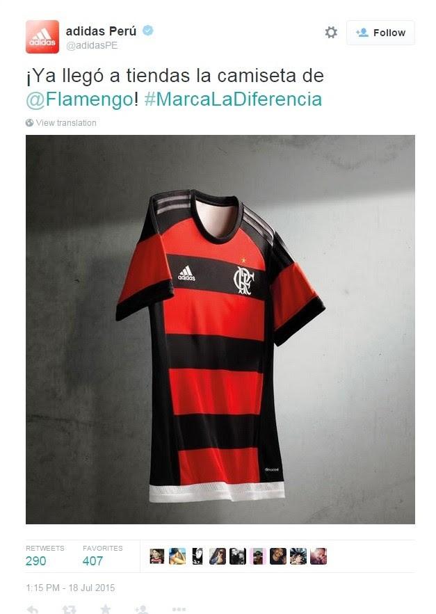 Guerrero ajudando a internacionalizar o Flamengo