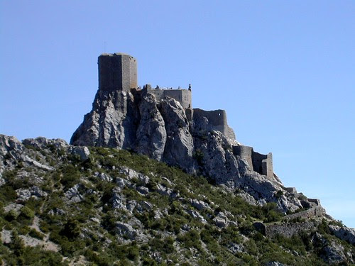 Château de Queribus - Castell de Querbus