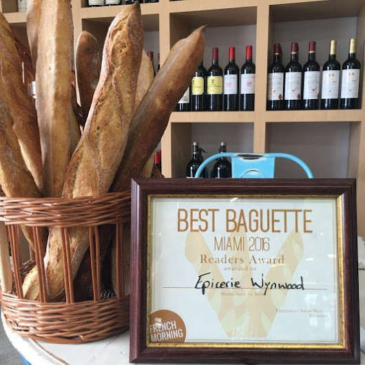 Best French Bakery Miami, awarded best baguette - MiamiCurated