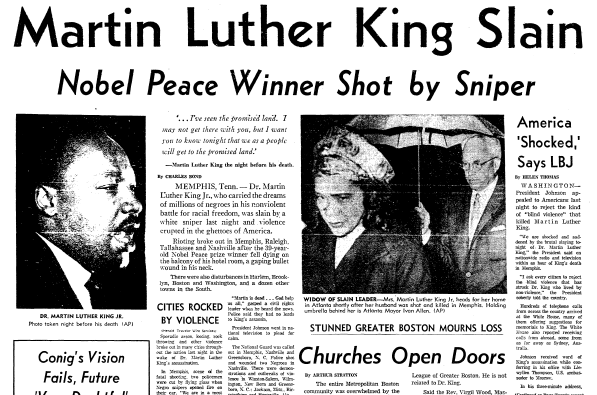 Image result for martin luther King assassination images