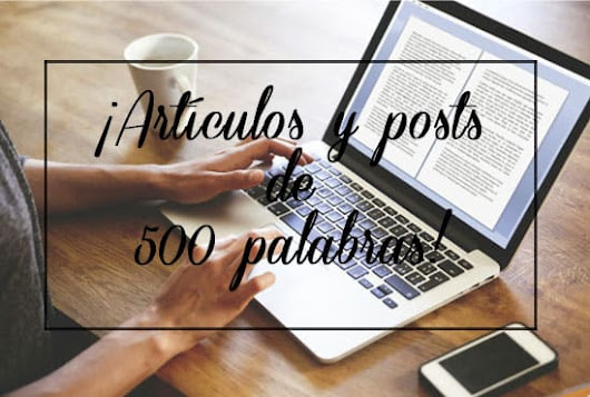 d_ellav : I will write 2 articles 500 words in spanish for $5 on www.fiverr.com