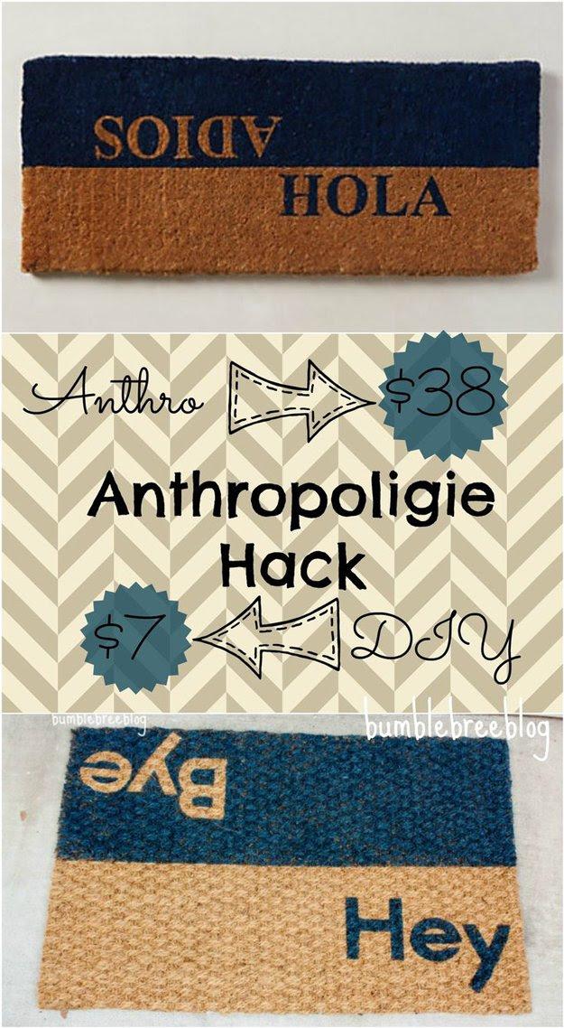 Anthropologie Ideas and Inspirations | http://diyready.com/diy-decor-anthropologie-hacks/