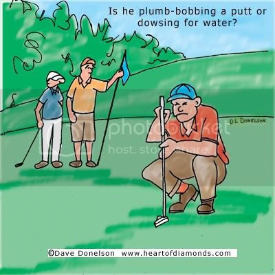Golf Dowsing