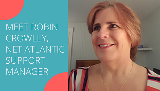 Meet Robin Crowley, Support Manager