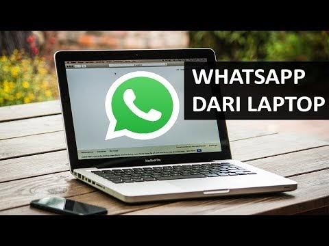 Buka WhatsApp Menggunakan Laptop Via Web