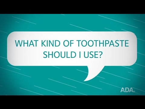 Ask the Dentist by the ADA: 'What Kind of Toothpaste Should I Use?'
