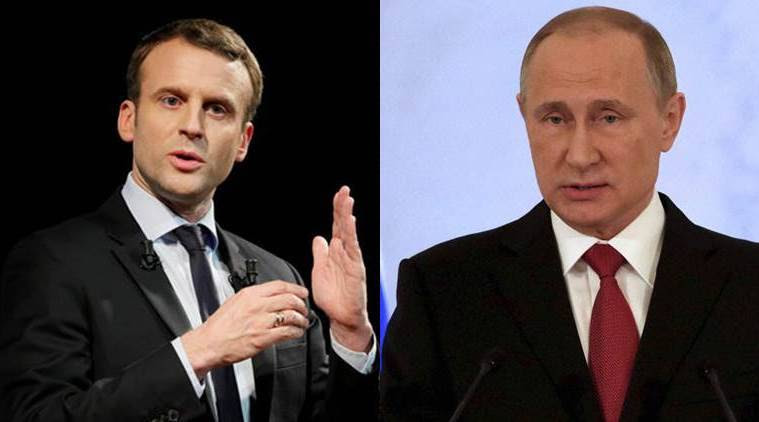Putin, Macron urge 'strict' observance of Iran nuclear accord: Kremlin