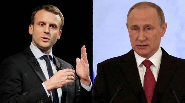 Putin, Macron urge 'strict' observance of Iran nuclear accord: Kremlin