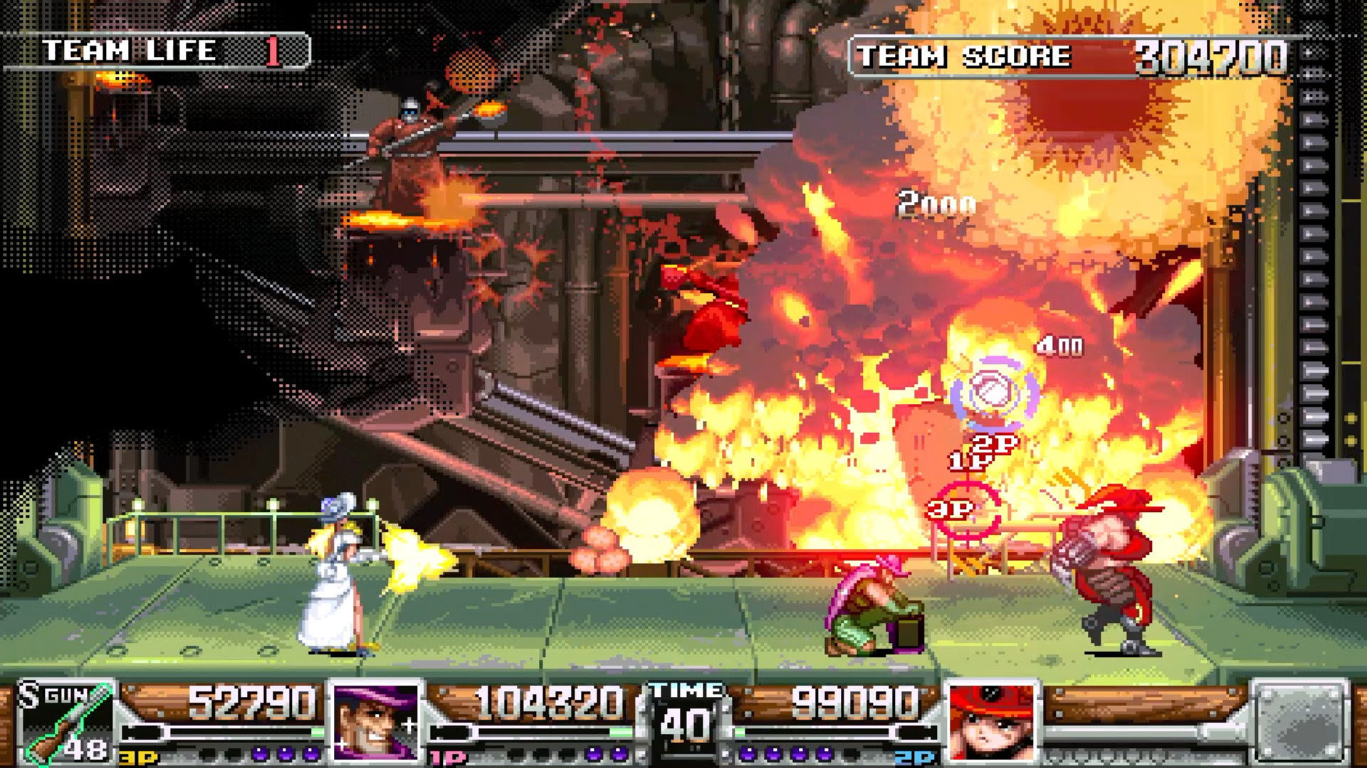 Heck yeah, Wild Guns Reloaded is now on Steam screenshot