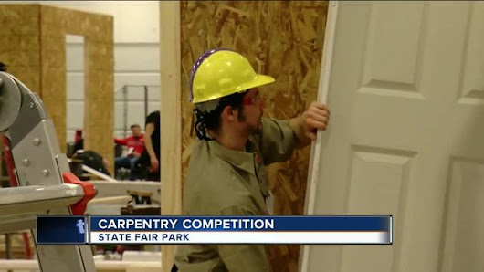 Local high schools competing in skilled trade competition