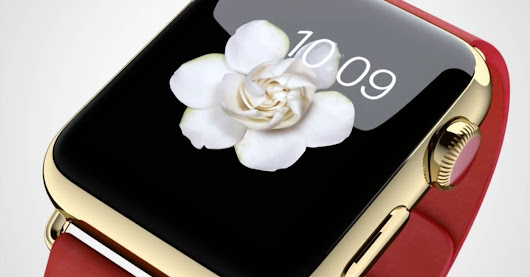 The Apple Watch Edition will start at $10,000