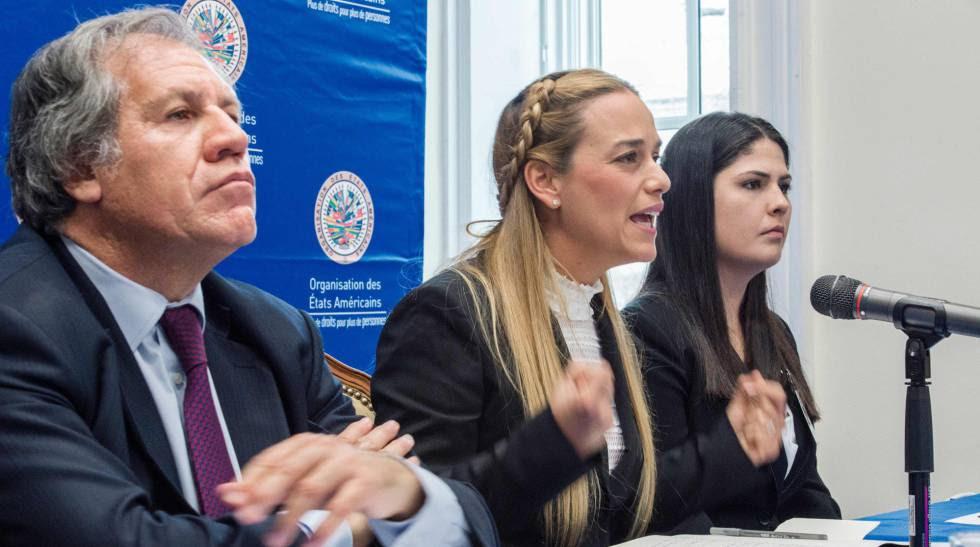 Resultado de imagen para LILIANA TINTORI  EN LA OEA